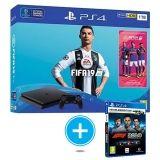 SONY-PS4 SLIM 1TB FIFA19 F1