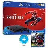 SONY-PS4 SLIM 1TB SPIDER PES