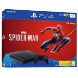 SONY-PS4 SLIM 1TB SPIDER