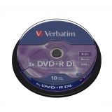 VERB-DVD+R DC 8.5GB 10U
