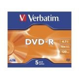 VERB-DVD-R 4.7GB 5U
