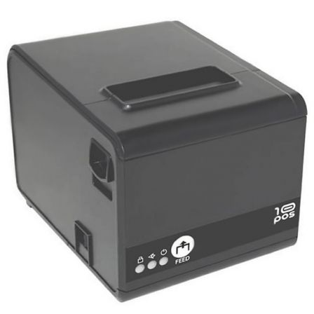 Impresora de Tickets 10pos RP-10N/ Térmica/ Ancho papel 76mm/ USB-RS232-Ethernet/ Negra