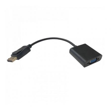 Adaptador 3GO ADPVGA/ Displayport Macho - VGA Hembra
