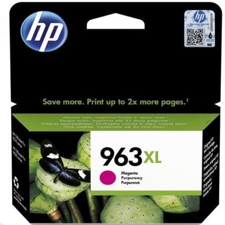 Cartucho de Tinta Original HP nº963 XL Alta Capacidad/ Magenta