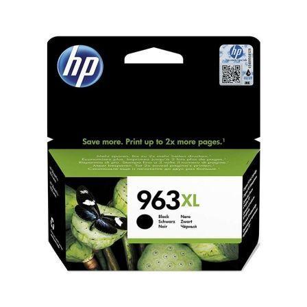 Cartucho de Tinta Original HP nº963 XL Alta Capacidad/ Negro