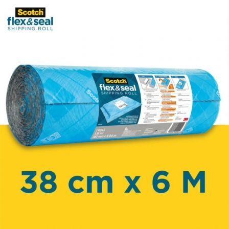 Rollo de Envío 3M Scotch Flex And Seal FS-1520-6-EU / 38cm x 6m