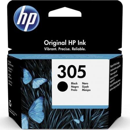Cartucho de Tinta Original HP nº305/ Negro