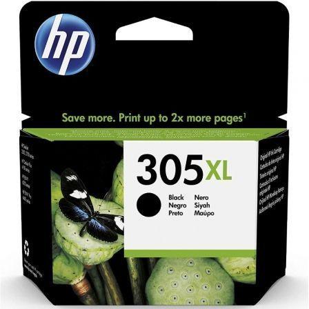 Cartucho de Tinta Original HP nº305 XL Alta Capacidad/ Negro