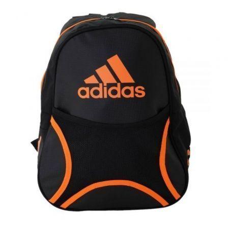 Mochila Adidas Backpack Club/ Negra y Naranja
