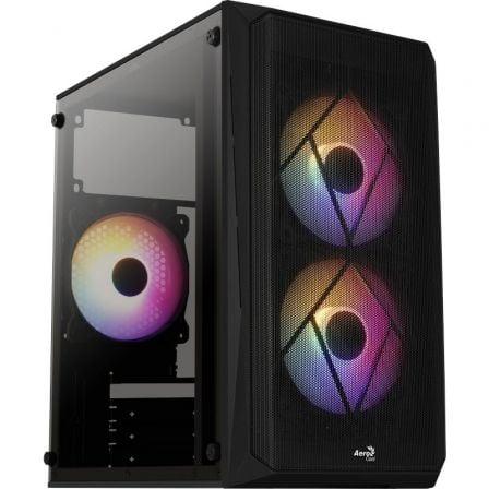 Caja Gaming Minitorre Aerocool CS107 V2