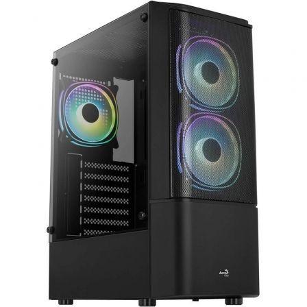 Caja Gaming Semitorre Aerocool Quantum Mesh V3