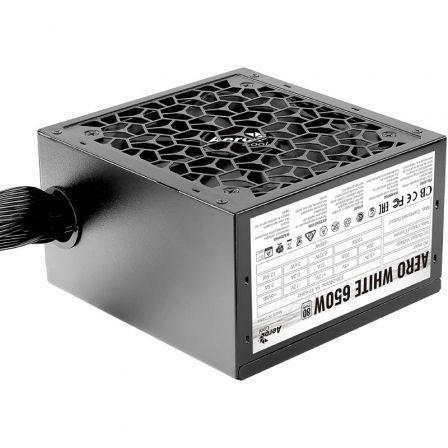 Fuente de Alimentación Aerocool Aero White/ 650W/ Ventilador 12cm/ 80 Plus