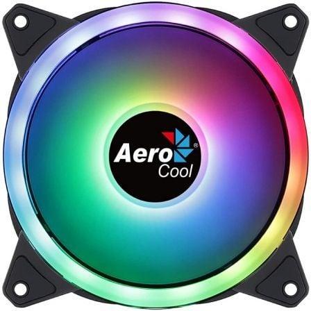 Ventilador Aerocool Duo 12/ 12cm/ RGB