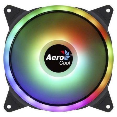 Ventilador Aerocool Dúo 14/ 14cm/ RGB