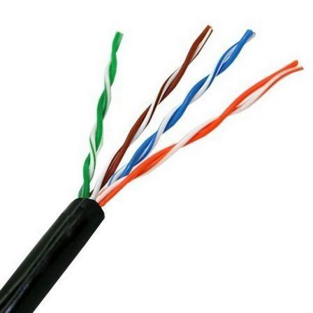 Bobina de Cable RJ45 UTP Aisens A133-0212 Cat.5e/ 100m/ Negro