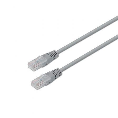 Cable de Red RJ45 UTP Aisens A135-0267 Cat.6/ 2m/ Gris