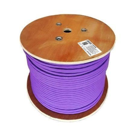 AISENS - CABLE DE RED RJ45 LSZH CPR ECA CAT.7 600 MHZ S/FTP AWG23, VIOLETA, 305M