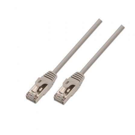Cable de Red RJ45 SSTP Aisens A137-0283 Cat.6/ 1m/ Gris