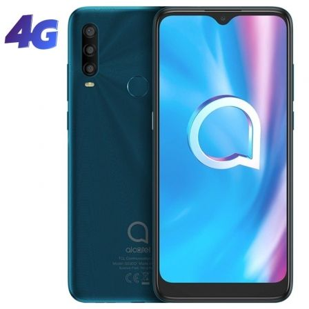 Alcatel 1SE (2020) - ágata verde - 4G - 32 GB - GSM - smartphone