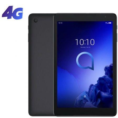 "TABLET CON 4G ALCATEL 3T 10 PRIME BLACK - 10""/25.4CM 800*1280 - QC 1.28GHZ - 2GB RAM - 16GB - ANDROID - CAM 2MP/2MP - BAT 5500MAH"