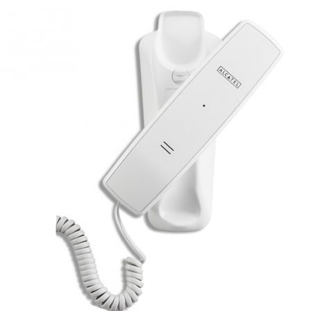 TELÉFONO MONOPIEZA ALCATEL TEMPORIS 10 BLANCO - INDICADOR VISUAL LLAMADAS ENTRANTES - RELLAMADA - POSIBILIDAD MONTAJE MURAL