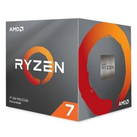 PROCESADOR AMD RYZEN 7 3800XT  - 8 NÚCLEOS - 3.9GHZ - SOCKET AM4