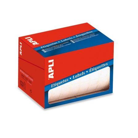 Etiquetas Adhesivas en Rollo Apli 01683/ 16 x 22mm/ 4200 uds