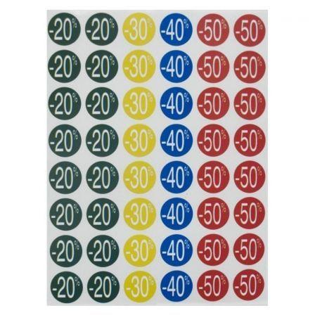 APLI PAPER signo - 20 - 70% de descuento - azul, amarillo, rojo, verde