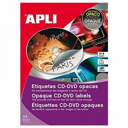 APLI PAPER MEGA - etiquetas opacas - 100 uds. - A4