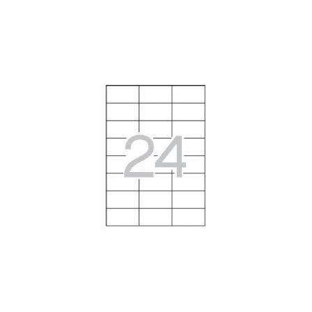 Etiquetas Adhesivas Apli Multi3 10514/ 64 x 33,8/ 500 Hojas