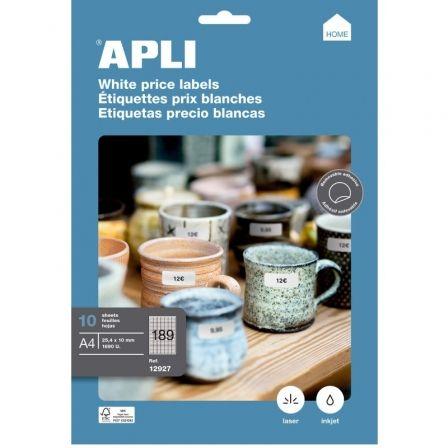 API-ETIQUETA A4 25.4X10MM