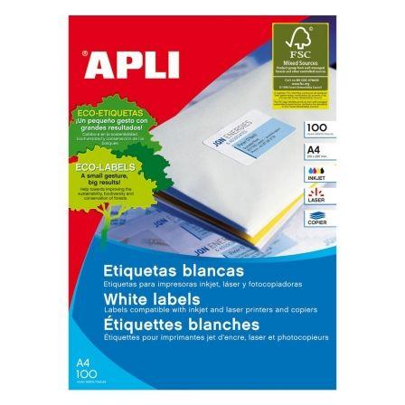 APLI PAPER - etiquetas - 5600 uds. - 21.2 x 52.5 mm