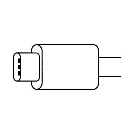 Adaptador Apple MU7E2ZM/A de USB Tipo-C a Toma para Auriculares 3.5mm