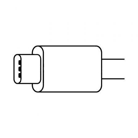 Adaptador Apple MX0K2ZM/A de conector USB Tipo-C a Lightning