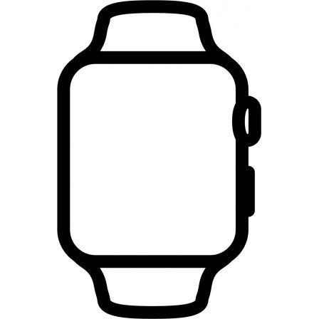 Apple Watch SE/ GPS/ 44mm/ Caja de Aluminio en Plata/ Correa Deportiva Blanca