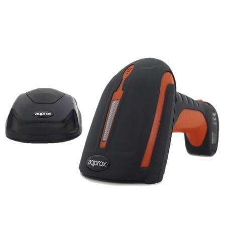 Lector de Código de Barras 1D-2D-QR Approx appS17I2D/ Bluetooth USB Radiofrecuencia