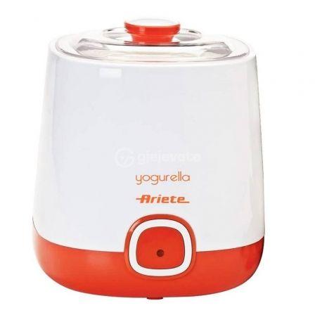 Yogurtera Ariete Yogurella/ 20W/ 1L/ Accesorio para Yogur Griego