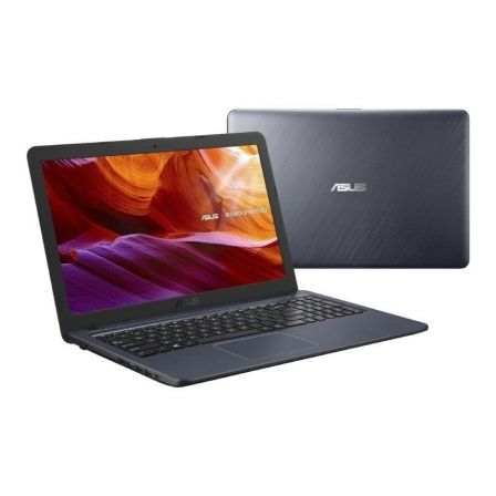 PORTÁTIL ASUS A543MA-GQ530 - INTEL N4000 1.10GHZ - 4GB - 256GB SSD - 15.6'/39.6CM HD - HDMI - BT - NO ODD - ENDLESS OS - GRIS ESTRELLA