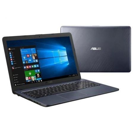 PORTÁTIL ASUS A543UA-GQ1691T - I3-7020U 2.3GHZ - 4GB - 256GB SSD - 15.6'/39.6CM HD - HDMI - BT - NO ODD - W10 - GRIS ESTRELLA
