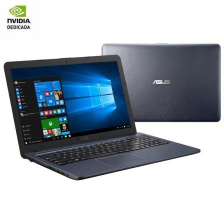 PORTÁTIL ASUS A543UB-GQ1047T - I5-8250U 1.60GHZ - 8GB - 256GB SSD - GEFORCE MX110 2GB - 15.6'/39.6CM HD - HDMI - BT - NO ODD - W10 - GRIS ESTRELLA