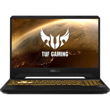 PORTÁTIL ASUS TUF GAMING FX505DD-BQ067 - AMD RYZEN 7 3750H 2.3GHZ - 8GB - 512GB SSD - GEFORCE GTX 1050 3GB - 15.6'/39.6CM FHD - FREEDOS - STEALTH BK