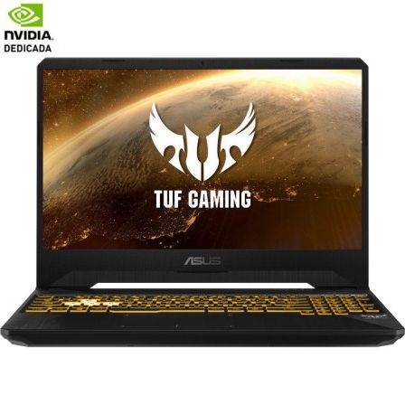 PORTÁTIL ASUS TUF GAMING FX705DD-AU017 - AMD RYZEN 7 3750H 2.3GHZ - 8GB - 512GB SSD - GEFORCE GTX 1050 3GB - 17.3'/43.94CM FHD - FREEDOS - STEALTH BK