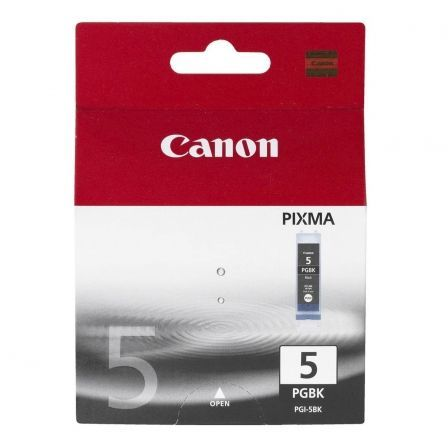 Cartucho de Tinta Original Canon PGI-5BK Alta Capacidad/ Negro