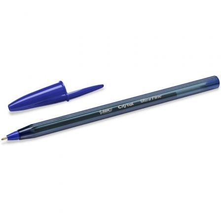 Bolígrafo de Tinta de Aceite Bic Cristal Exact Ultrafine 992605/ Azul