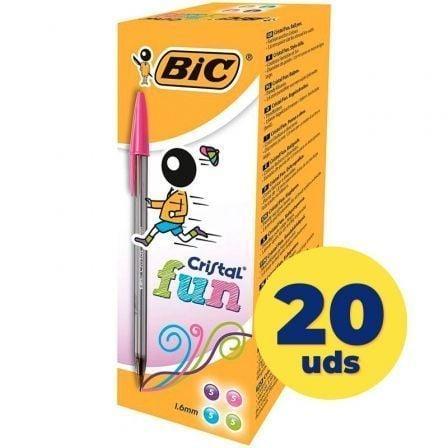 BIC-CRISTAL FUN CAJA 20U