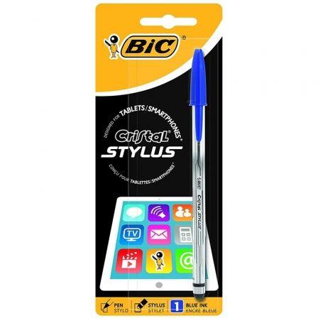 BIC-CRISTAL STYLUS AZUL