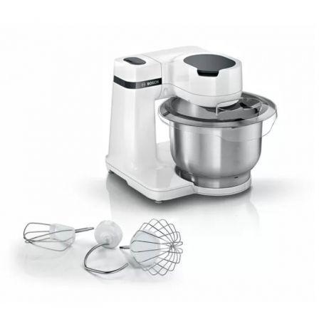 Robot de Cocina Bosch MUM Serie 2/ 700W/ Capacidad 3.8L/ Blanco/ 3 Accesorios