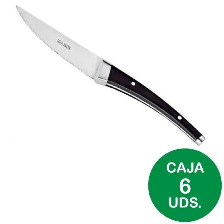Pack 6 Cuchillos Chuleteros Bra Dolphin A047767/ Acero inoxidable