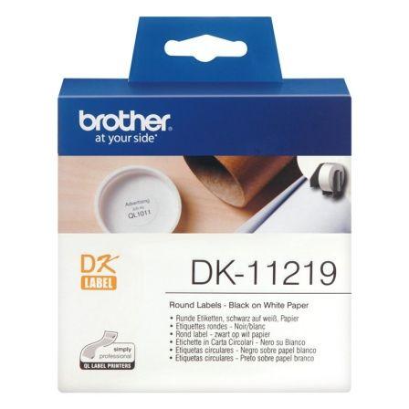 Etiquetas Precortadas Brother DK11219/ 1200 unidades