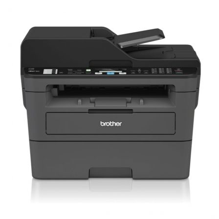 MULTIFUNCION LÁSER MONOCROMO BROTHER WIFI CON FAX MFC-L2710DW - HASTA 30 PPM - DUPLEX - ESCAN 1200X1200 - ETHERNET - USB - TONER TN2410/2420